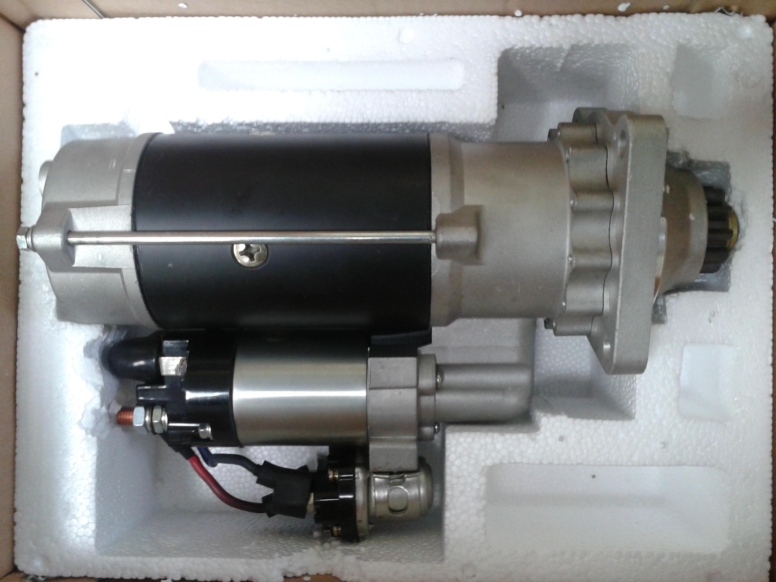 схема подключения стартер 24в генератор 12в